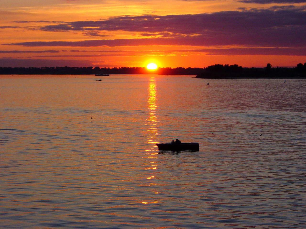 Восход солнца в нижнем новгороде
